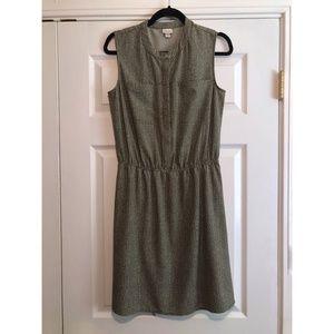 [MERONA] Olive Patterned Pocket Dress